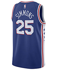 Nike Men's Ben Simmons Philadelphia 76ers Icon Swingman Jersey