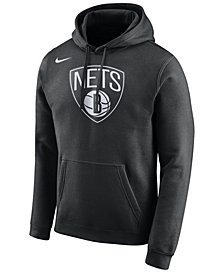 Nike Men's Brooklyn Nets Logo Club Hoodie