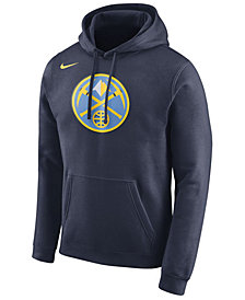 Nike Men's Denver Nuggets Logo Club Hoodie