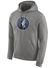 Nike Men's Minnesota Timberwolves Logo Club Hoodie