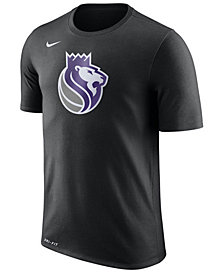 Nike Men's Sacramento Kings Dri-FIT Cotton Logo T-Shirt
