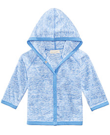 First Impressions Long-Sleeve Hooded Cover Up, Baby Boys, Created for Macy's
