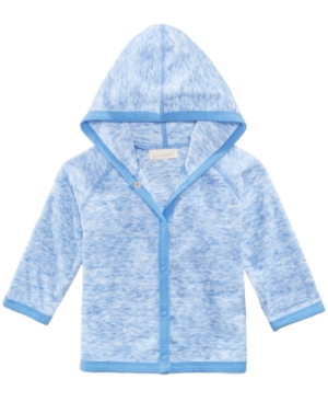 First Impressions LongSleeve Hooded Cover Up Baby Boys (024 months) Created for Macys