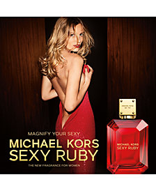 Michael Kors Sexy Ruby Fragrance Collection