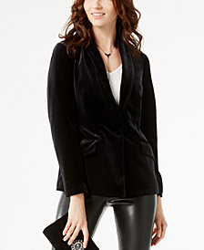 I.N.C. Velvet Blazer, Created for Macy's