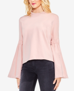 Vince Camuto Bell-Sleeve Mock-Neck Sweater