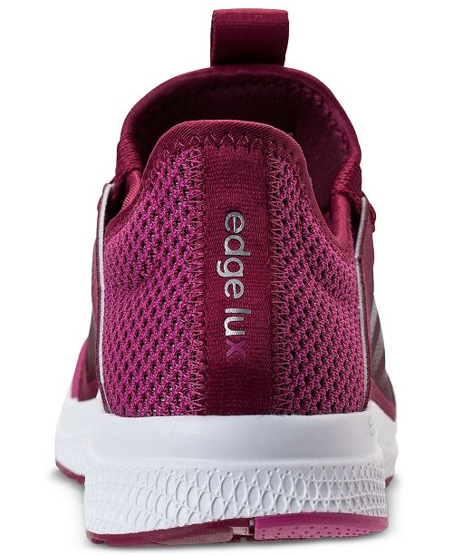 adidas Women s Edge Lux Running Sneakers from Finish Line   Reviews ... cdea5f992