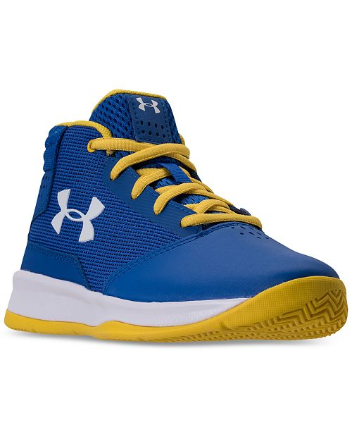 4cb8fce66c8a ... Under Armour Little Boys  Jet 2017 Basketball Sneakers from Finish Line  ...