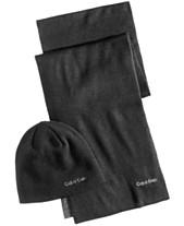 5c18024e1f5 Calvin Klein Men s Reversible Hat   Scarf Set