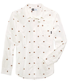 LRG Men's Flag Print Shirt