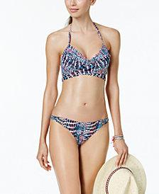 Sundazed Simone Bra-Sized Underwire Wrap Bikini Top & Bottoms, Created for Macy's