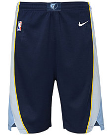 Nike Memphis Grizzlies Icon Swingman Shorts, Big Boys (8-20)