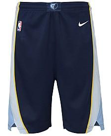 Nike Memphis Grizzlies Icon Swingman Shorts, Big Boys (8-20)
