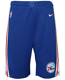 Nike Philadelphia 76ers Icon Swingman Shorts, Big Boys (8-20)