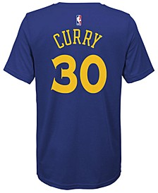 Stephen Curry Golden State Warriors Icon Name & Number T-Shirt, Big Boys (8-20)
