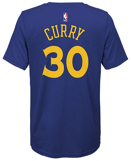 Nike Stephen Curry Golden State Warriors Icon Name   Number T-Shirt ... 4cbd98444