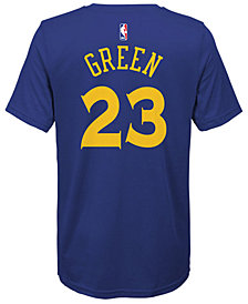 Nike Draymond Green Golden State Warriors Icon Name & Number T-Shirt, Big Boys
