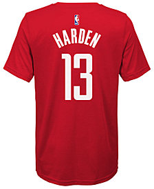 Nike James Harden Houston Rockets Icon Name & Number T-Shirt, Big Boys (8-20)