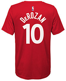 Nike Demar DeRozan Toronto Raptors Icon Name & Number T-Shirt, Big Boys (8-20)