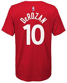 Nike Demar DeRozan Toronto Raptors Icon Name & Number T-Shirt, Big Boys (8-20)