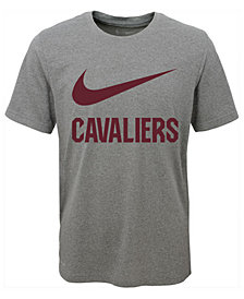 Nike Cleveland Cavaliers Swoosh Team T-Shirt, Big Boys (8-20)