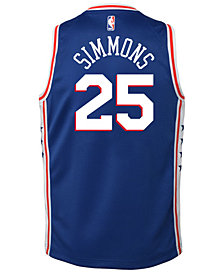 Nike Ben Simmons Philadelphia 76ers Icon Swingman Jersey, Big Boys (8-20)