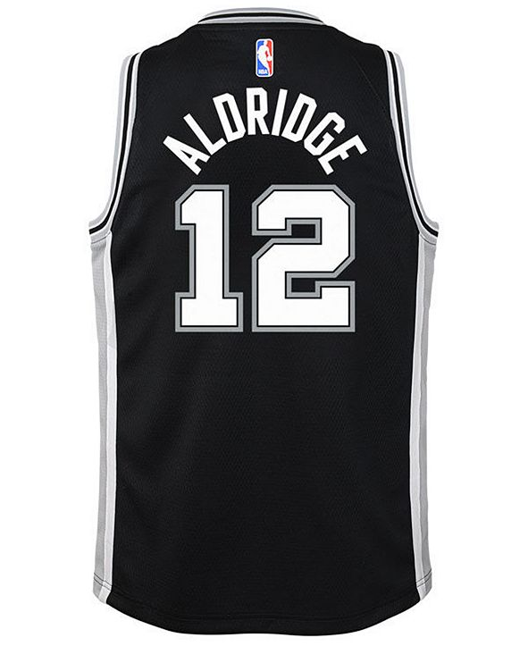 Nike Lamarcus Aldridge San Antonio Spurs Icon Swingman Jersey, Big Boys (8-20)