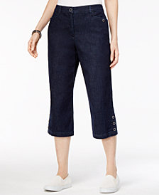 Karen Scott Capri Jeans, Created for Macy's