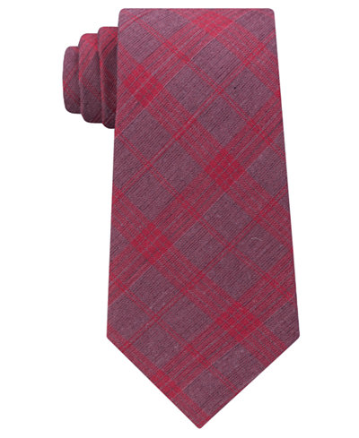 Calvin Klein Men's Plaid Tie