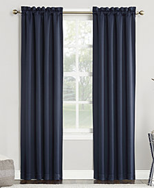 Sun Zero Preston Blackout Rod-Pocket Window Panels