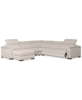 leather white sofa sectional modern couch