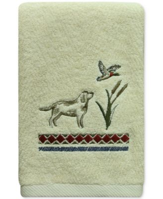 Live Love Lake Cotton Embroidered Hand Towel