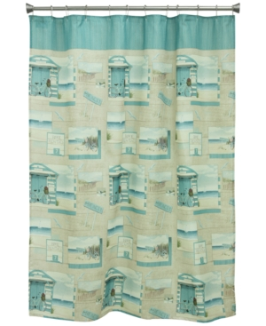 Bacova Beach Cruiser 70 x 72 GraphicPrint Shower Curtain Bedding