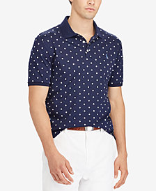 Polo Ralph Lauren Men's Classic-Fit Soft-Touch Dot Print Polo