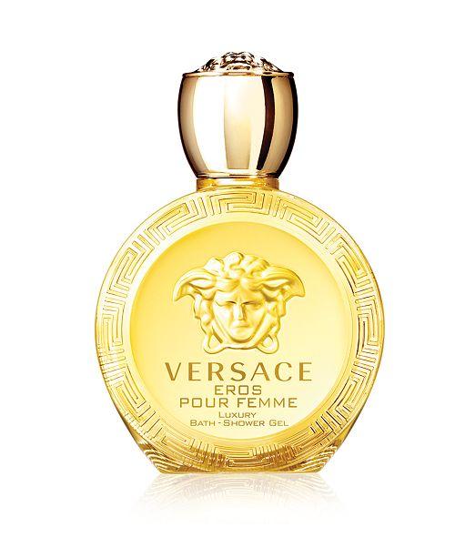 Versace Eros Pour Femme Eau de Toilette Bath and Shower Gel, 6.7 oz ... 74de08cf1420
