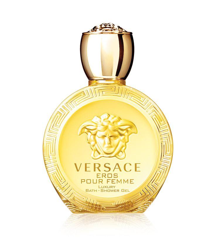 Versace - Eros Pour Femme Eau de Toilette Bath and Shower Gel, 6.7 oz