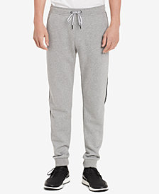 Calvin Klein Men's Classic-Fit Joggers with Logo Taping