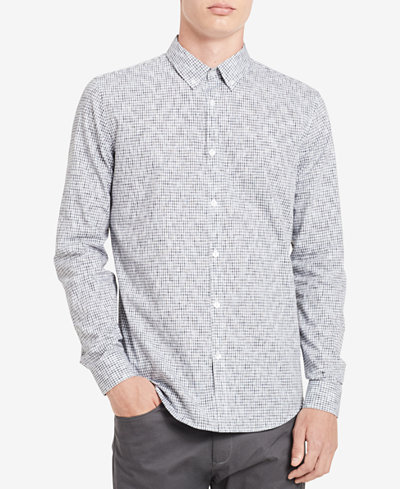 Calvin Klein Men's Dobby Shirt