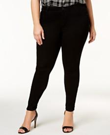 Celebrity Pink Trendy Plus Size Infinite Stretch Dawson Super-Skinny Jeans