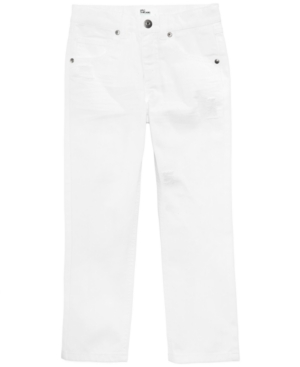 Epic Threads White Denim Cotton Jeans Toddler Boys (2T5T) Created for Macys
