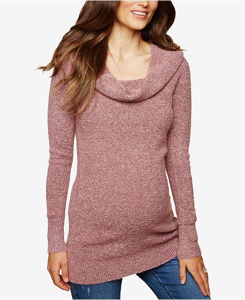 a45f8b3e61068 Motherhood Maternity Cowl-Neck Sweater   Reviews - Maternity ...