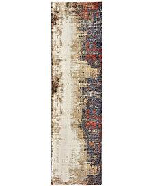 "Oriental Weavers Evolution Ryanne 2'3"" x 8' Runner Area Rug"