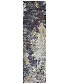 "Oriental Weavers Evolution Rowan 2'3"" x 8' Runner Area Rug"