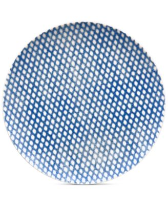 Blue Hammock Coupe Dots Salad Plate, Created for Macy's