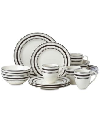 Around the Table Stripe 16-Pc. Dinnerware Set Service For 4 Created for Macy\u0027s  sc 1 st  Macy\u0027s & Lenox Around the Table Stripe 16-Pc. Dinnerware Set Service For 4 ...