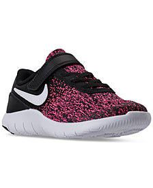Nike Little Girls' Flex Contact Running Sneakers from Finish Line