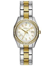 Women's Two-Tone Stainless Steel Bracelet Watch 28mm