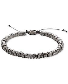 Men's Washer Bolo Bracelet in Sterling Silver