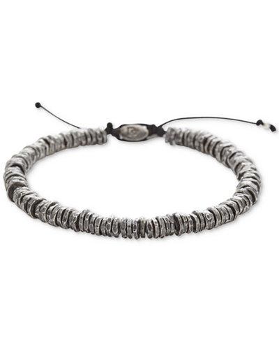 Degs Amp Sal Men S Washer Slider Bracelet In Sterling Silver