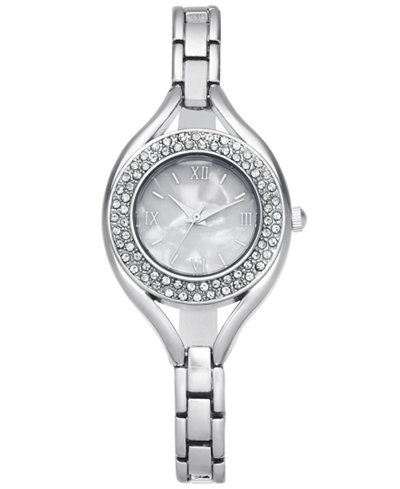 Charter Club Women's Pavé Bracelet Watch 30mm, Created for Macy's